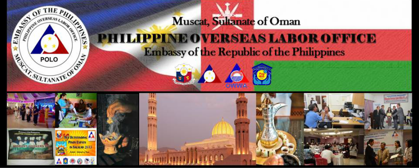 Philippine Overseas Labor Office Muscat, Sultnate of Oman